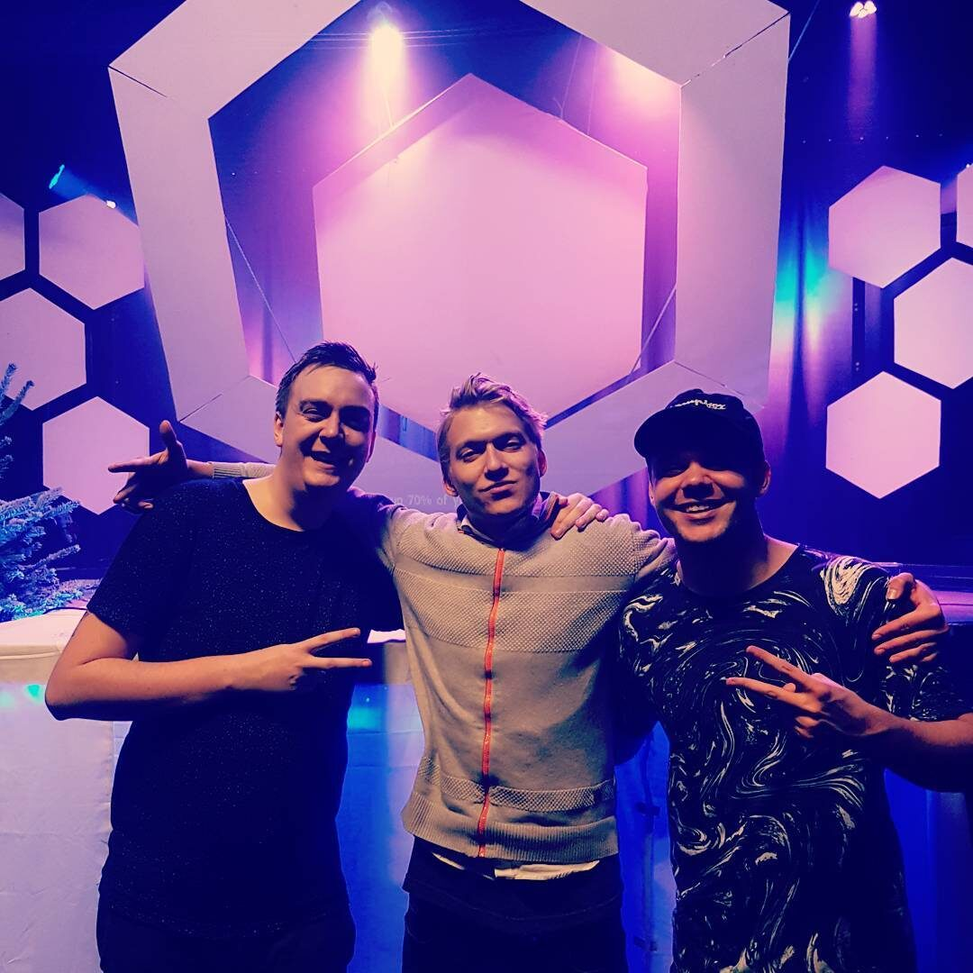 Kasger Picture at SUBHIVE 2018 /w Redemptive and Meluran